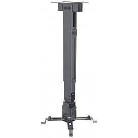 Staffa Universale a Parete-Soffitto per Proiettori Estensione 43-65 cm