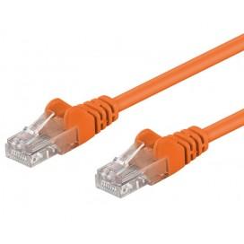 Cavo di rete Patch CCA Cat. 6 Arancio UTP 3 m