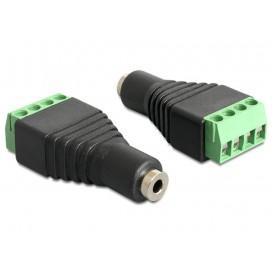 Adattatore Audio 2.5'' Femmina a Terminal Block 4 pin