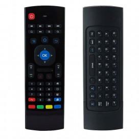 Telecomando con Mini Tastiera Air Mouse Wireless per Box Android