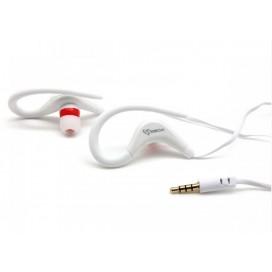 Auricolari Audio Stereo 3.5'' con Microfono Bianco